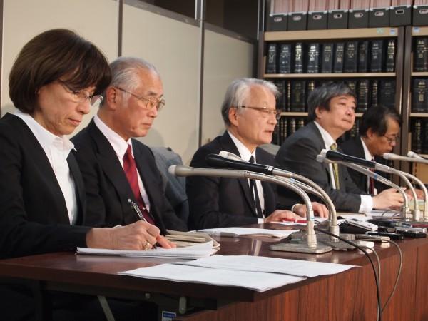 2015年12月8日、新もんじゅ訴訟提訴記者会見